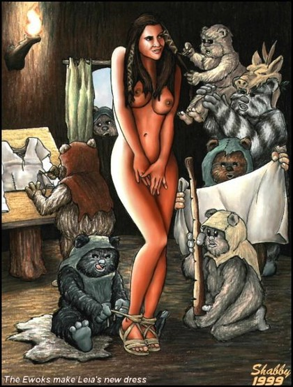 Sex Cartoons Star Wars