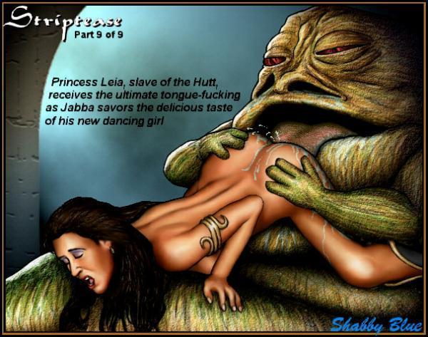Leia naked wars princess star slave
